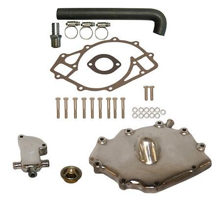 Polished Aluminum 460 Ford Thermostat Kit