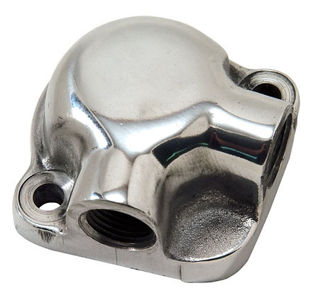 Polished Aluminum Water Outlet Divider Tee - 455 O