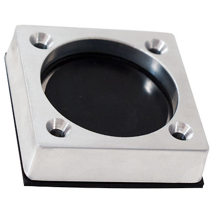 "Bilge ""J"" Drain- Self-Bailing- Satin Finish Billet"