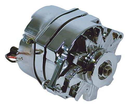 94 Amp Single Wire Chromed Marine Alternator