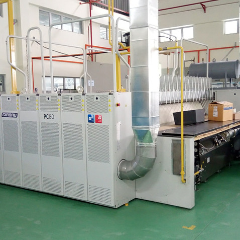 Girbau Double Roll Thermal Oil Flatwork Ironer