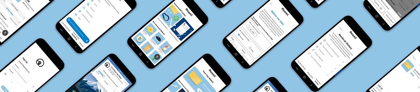 Rosmi Preview UI Screens