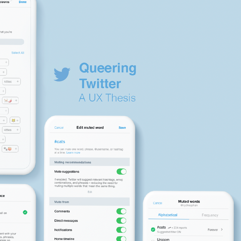 Queering Twitter: A UX Thesis