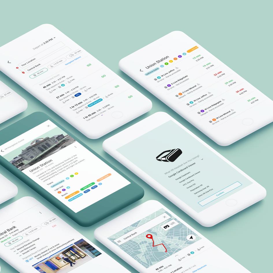 Wayfind Multi-Modal App