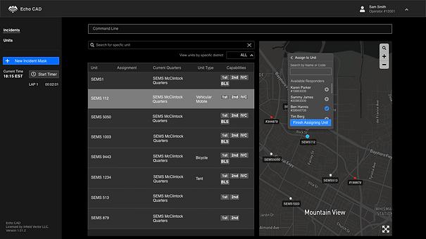 Map Unit page