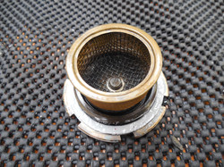 Overdrive sump magnets and strainer
