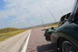 Trolling the plains for road trout