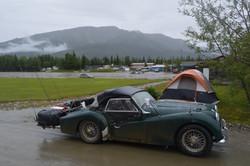 Arctic Camp at Coldfoot