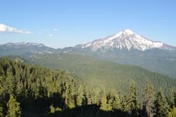 Mt Jefferson from Triangulation Peak