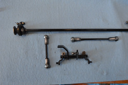 Linkages; body color retaining clips