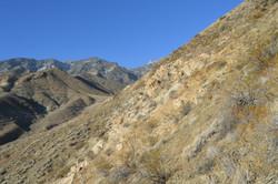 climbing to the ridge from Hanaupah