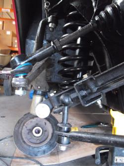 New Suspension, steering, brakes