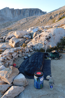 An Alpine Camp, West Side of Whitney