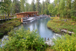 The Wonderful Liard Hot Springs!!!!