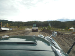 Several sections of Road Work