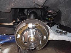New suspension, New brakes