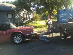 building a trailer hitch