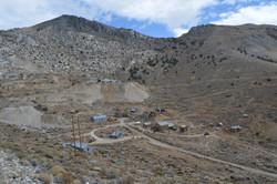 Cerro Gordo mining ghost town