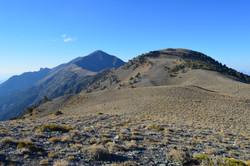 Telescope Peak and Bennett Peak