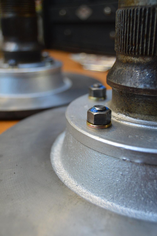 Rotor to hub assembly