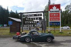 Heading South in far Western B.C.