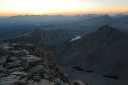 Mt Whitney Sunset
