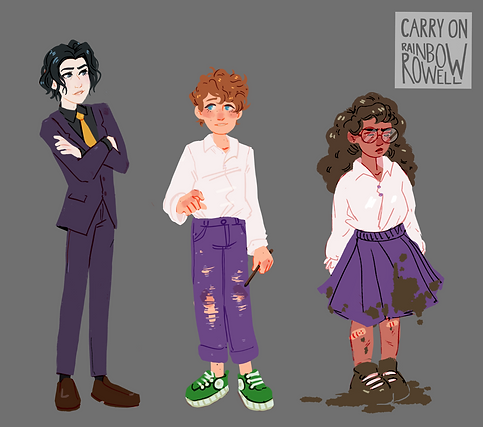 Character Design - Carry On