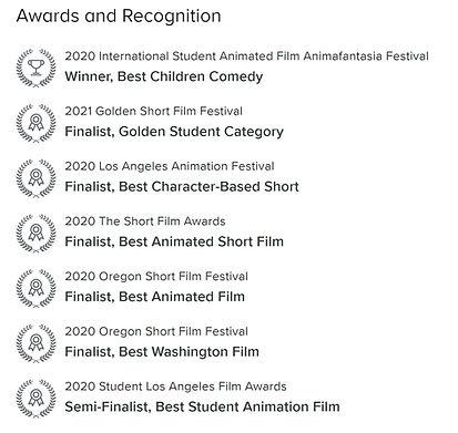 PrePAWsterous - Awards
