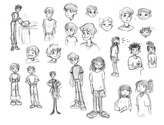 Character Design (Itadakimasu)