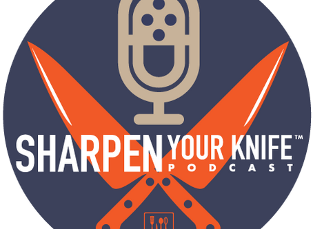 Sharpen Your Knife Podcast is here!