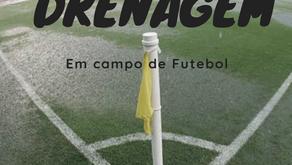 Drenagem de campo de futebol
