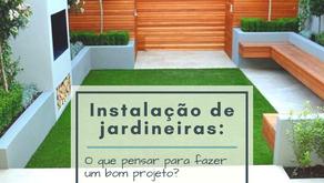 Instalação de jardineiras: O que pensar para fazer um bom projeto?