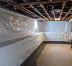 Drain Tile System Waterproofing