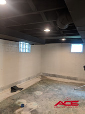Interior Drain Tile System - Basement Waterproofing