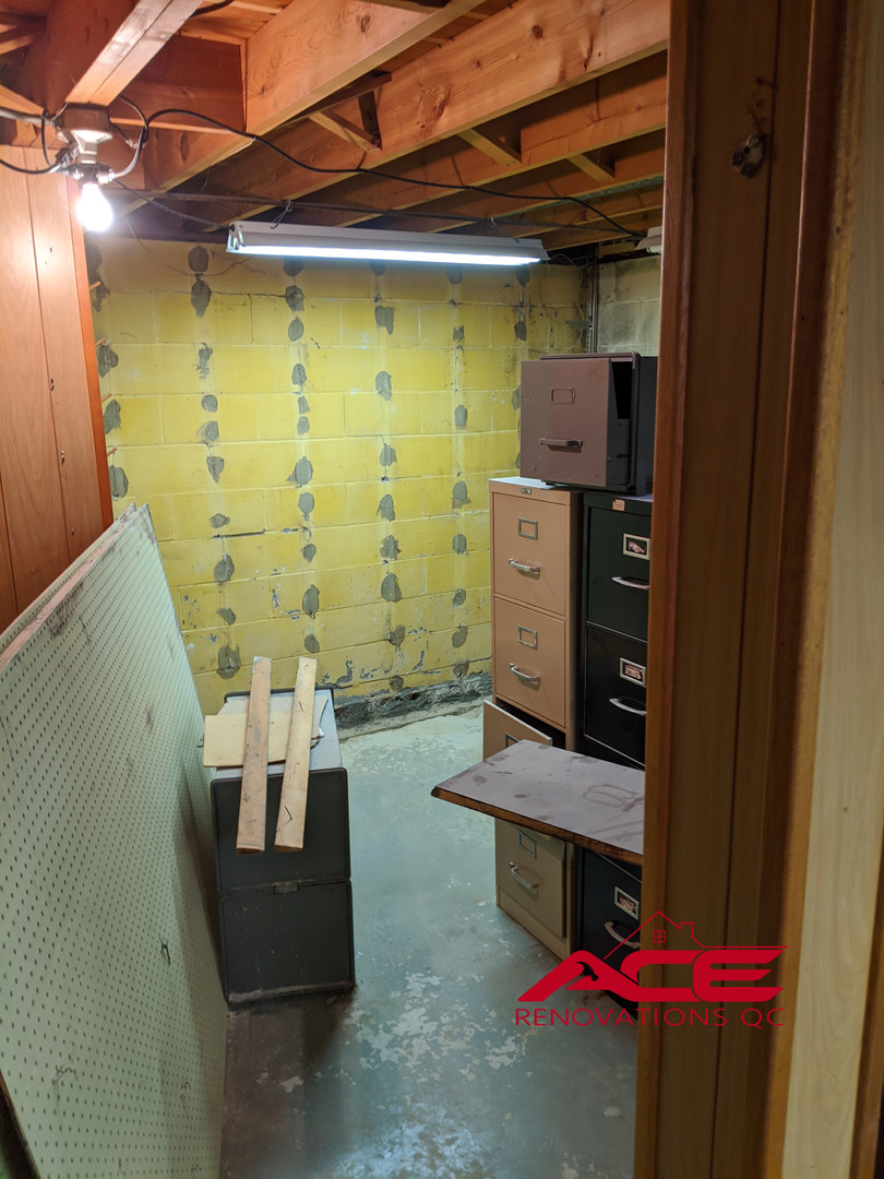 Waterproofing with paneling