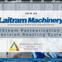 Join Laitram Machinery virtually at PTNPA Technical Forum
