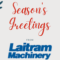 Happy Holidays from Laitram Machinery!