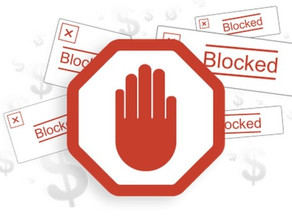 Are you all blocked up?