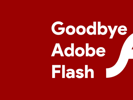 Gone in the Flash of an eye: The end of Adobe Flash Player