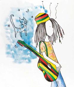 Cuento Un hippie