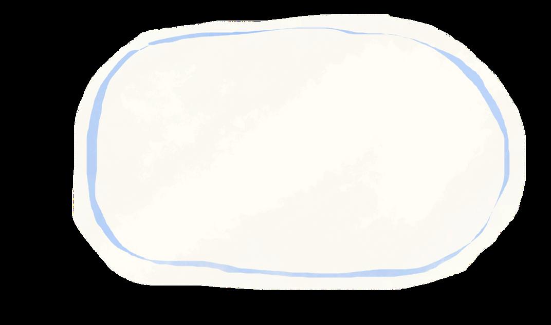 コメント背景(青線)