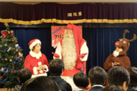 クリスマス会サンタ 画像