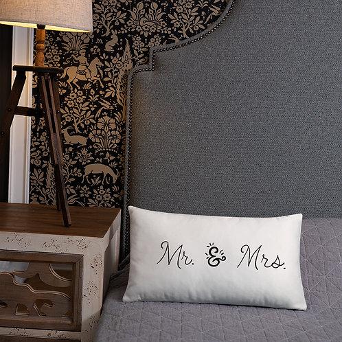 Mr. & Mrs. Basic Pillow