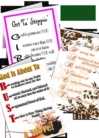 Encouragement Cards - Individual