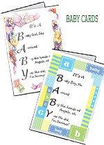 New Baby Congrats Cards - Individual