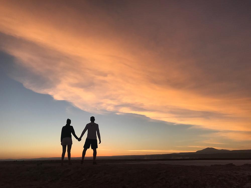 Laguna Tebenquiche, Deserto do Atacama - Dezembro 2017