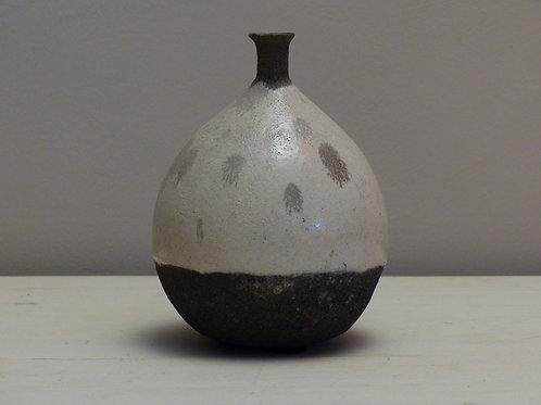 Vase soliflore en raku