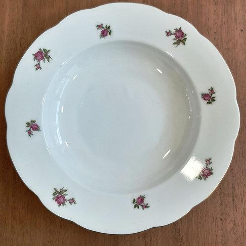 Assiette creuse en porcelaine  Bavaria