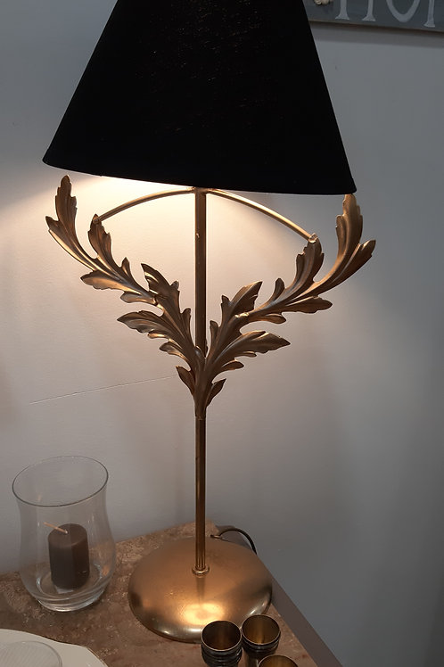 lampe dorée