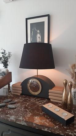 lampe horloge